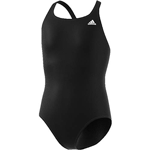 adidas Mädchen FIT SOL Y Swimsuit, Black, 13-14Y