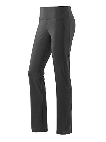 Michaelax-Fashion-Trade - Pantalon de sport - Jambe droite - Uni - Femme Noir - Black - Black (00700)