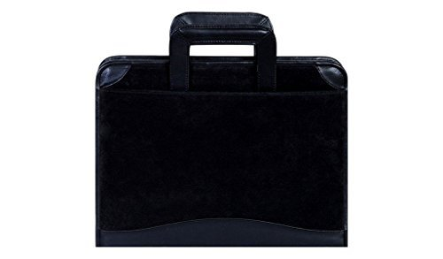 Scully Suede Zip Binder With Drop Handles by Scully (Zip Scully)