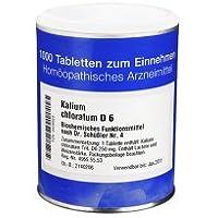 BIOCHEMIE 4 Kalium chloratum D 6 Tabletten 1000 Stück preisvergleich bei billige-tabletten.eu