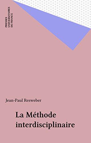 La Méthode interdisciplinaire