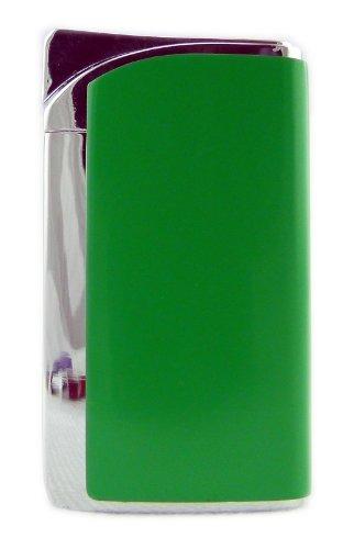 N&B Edles Designer Feuerzeug Elektro-Gas Zündung GRÜN