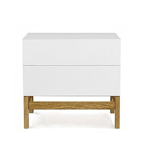 Mini bar design scandinave Grande - Couleur - Blanc