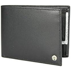 Aigner Portemonnaie 152673, Querformat schwarz