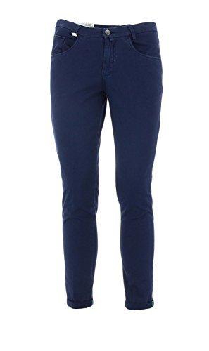 EVANSblu Barbati Pantalone cinque tasche Blu 48 Uomo