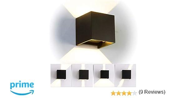 12w led moderno lampade da parete per interni esterno applique da