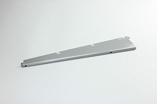 Home Regal System 19940830Klammern für Regal in Draht–42cm.–Weiß Aluminium (Draht Regal Klammern)