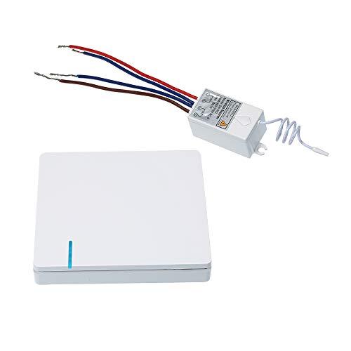 Festinght Intelligente Interruttore HomeKit, Wireless Interruttore Mittente (facoltativo) + Switch Receiver (Opzionale) Nessun Cablaggio AC 180~275 V Controllo Remoto