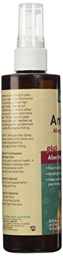 NaturVet 978002 Aller-911 Anti Lick Paw Spray for Pets, 8-Ounce 4