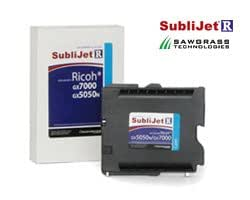SubliJet-R Sublimation Ink for Ricoh GX-5050, GX-7000 cyan