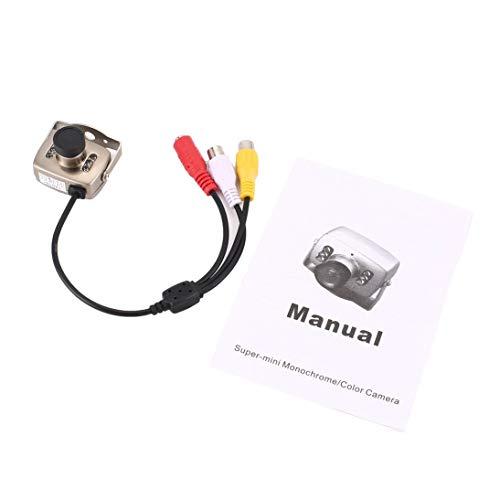 WEIHAN Silvery IR Wired CCTV Mini Kamera Sicherheit Farbe Nachtsicht Infrarot Video Recorder Einfache Installation High Definition Mini Cctv-kameras