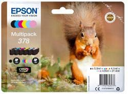 Epson 378 Squirrel Multipack Ink...