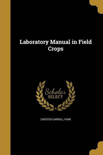 LAB MANUAL IN FIELD CROPS - Chester Labs