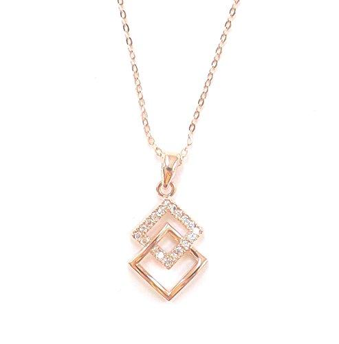 Remi Bijou Wunderschöne Halskette - Gold Farbe Strass - Geschenk