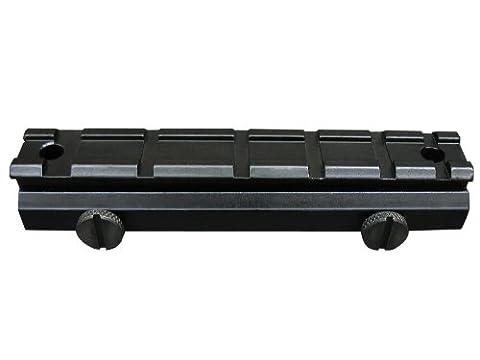 Seben Rehausseur de Rail Weaver Picatinny 21mm Rallonge Montage Lunette RSM05