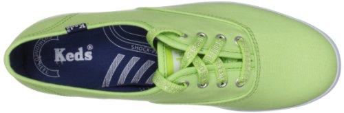 Keds WF46377, Baskets mode femme Vert (Lime Normal)