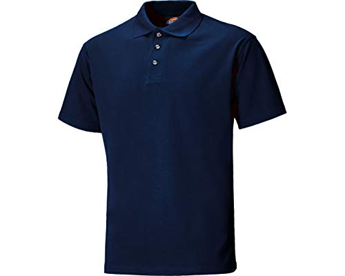 Polohemd d.blau gr.l 65% poly 35% bw -
