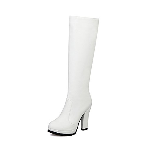 A&N - Pantofole a Stivaletto donna White