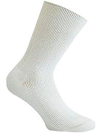 10 Paar Herren Arztsocken Kochfeste Socken Weiß, mit hohem Baumwoll Anteil natürlich hygienisch frisch