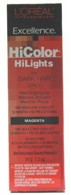L'Oreal Excellence Hicolor Highlights Magenta 35 ml Haarfarbe (3er-Pack)