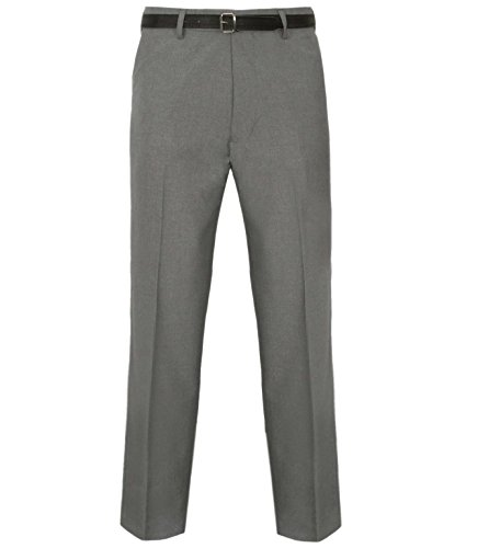 JBC Herren Hose Casual Formale Arbeit Komfort Hose: Länge: 78,7cm Regular Gr. Medium, hellgrau