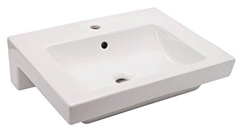 Waschtisch Artic , Gustavsberg (aus dem Hause Villeroy und Boch) , 60 cm , Weiß , Waschbecken
