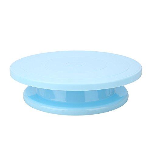 SKAISK Plastic Cake Revolving Stand Plattenspieler Durable Praktische Zuckerfertigkeit DIY Supplies Revolving Cake Stand