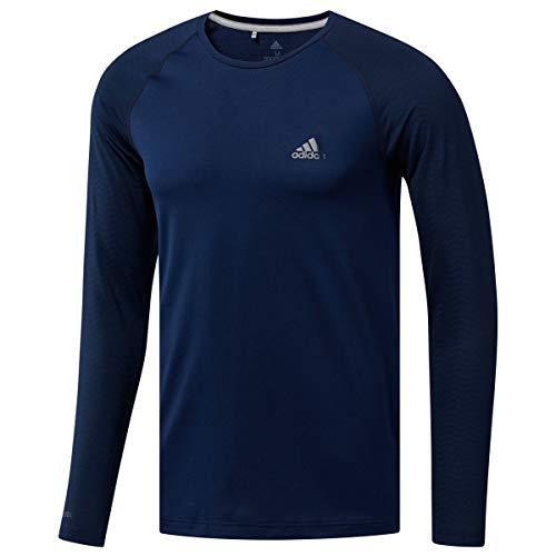 Adidas Golf Shirt Blau (adidas Herren Climacool Base Layer T-Shirt, Blau (Azul Navy Dx1332), X-Large)