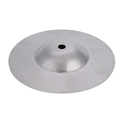 2 pcs Messing Trommel Becken, 5,6 Zoll Durable Splash Cymbal Musikinstrument für Trommel