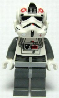 LEGO STAR WARS Minifigur - AT-AT Driver HOTH aus Set 8084
