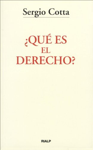¿Qué es el Derecho? (Bolsillo) por Sergio Cotta