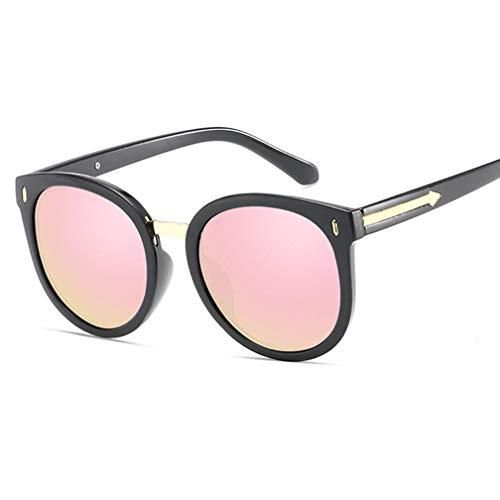 Polarisierte Sonnenbrillen für Damen, Sonnenbrillen Damen Horn Umrandet Klassische Retro Vintage Style Sonnenbrillen Voller UV400-Schutz,A
