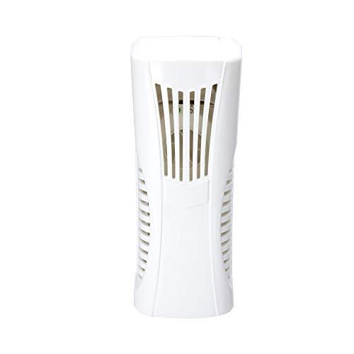 Automatischer Duftspender,Spender für Lufterfrischer Sprays Reinweiß-Ventilator-Art ätherisches Öl-Duft-Maschine an der Wand befestigter Tabletop-Doppelzweck Lufterfrischer mit Licht-Sensor und Timer -