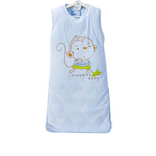 Affen Neugeborene Kostüm - Emmala Baby Ganzjahres Schlafsack,Blau AFFE M Casual Chic Elegant Bequem Zuhause Modern Style (Color : Colour, Size : Size)