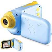 """RUilY® Kids Camcorder 5MP 2.4"""" TFT Screen for Kids Camera (Blue)"""