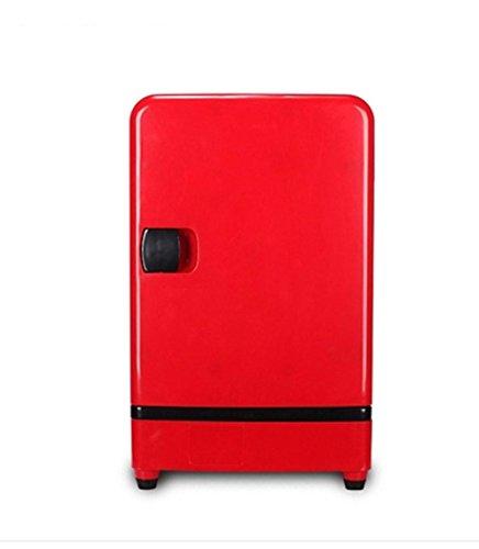 AMYMGLL Réfrigérateur de voiture de grande capacité 16L portable home et matériel automobile tension ABS 12V voiture 220V alimentation domestique 60 (W) poids 6kg taille 28 * 30 * 45 * cm