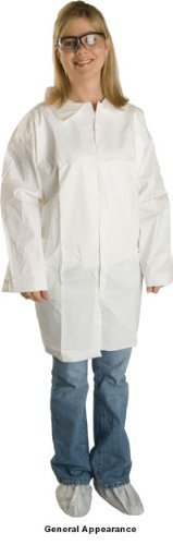 promax-lab-coats-open-cuff-no-pocket-30-per-case-large-by-lakeland