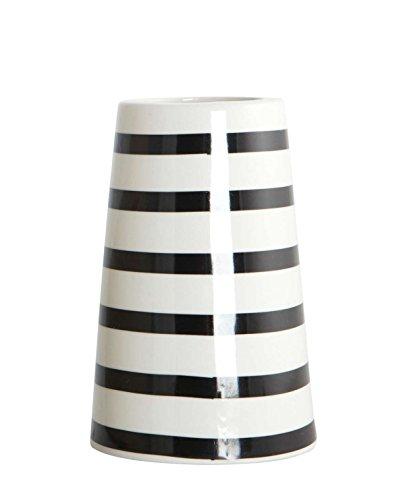 Vase, Sailor stripes, dia.: 6/9.5 cm, h.: 14 cm