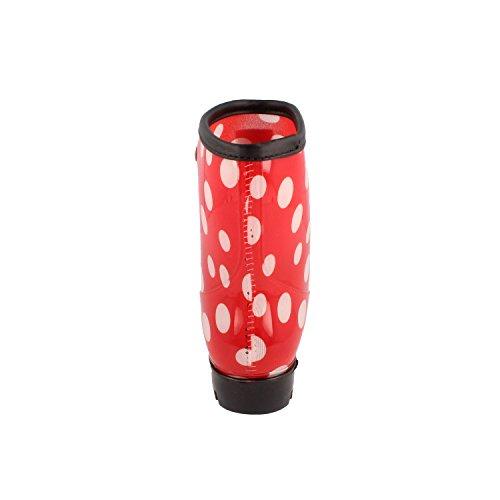 GOSCH SHOES SYLT Damen Mädchen Gummistiefel mit Punkte 7107-501 in 4 Farben Rot