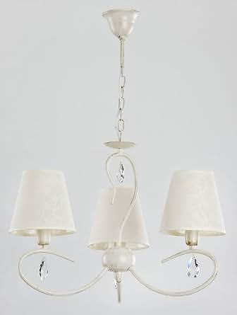 Alfa bali white bianco 3 lampadari lampadario lampada a sospensione illuminazione - Amazon lampadario camera da letto ...