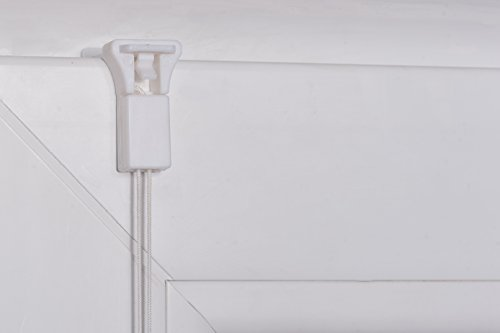 K-home Klemmfix-Plissee Palma Grün 80 x 130 cm (B x L) Lichtschutz +++ Moderne Crushed Optik +++ - 8