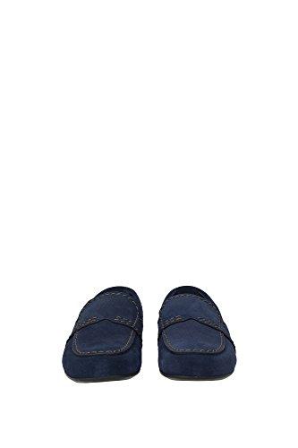 2dg059oltremare Herren Blau Wildleder Loafers Prada TpTwHqZ