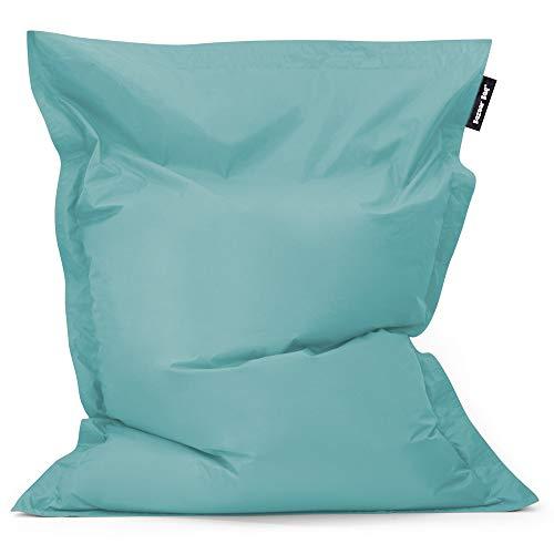 Bean Bag Bazaar Bazaar Bag - Azul Claro, 180cm x 140cm, Puf Gigante para Interiores y Exteriores – Puff Enorme, Ideal para Usar en el Hogar y el Jardín