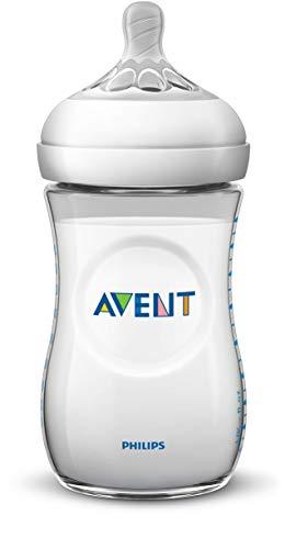 Imagen para Philips Avent SCD301/01 - Set de recién nacido gama natural, 4 biberones, chupete y escobilla, transparente