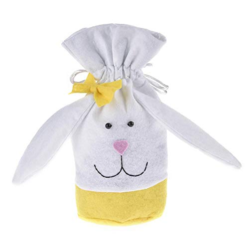 terferein 5 STÜCKE Osterhase Candy Bag Cute Drawstring Geschenktüte