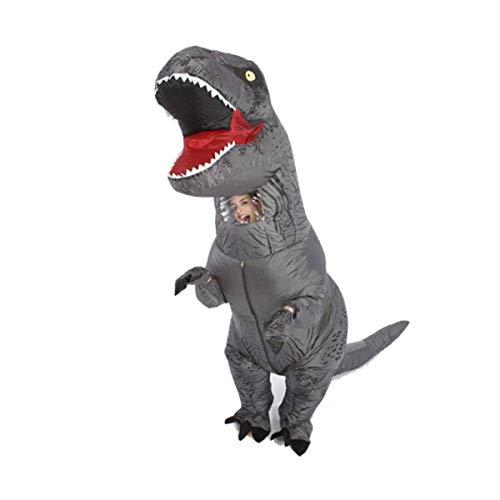 Aufblasbare Dinosa, Aufblasbare Dinosaurier, Aufblasbares Dinosaurierkostüm, Festliche Kleidung für Aufblasbare Dinosaurier, Reittier, Gehen, Cartoon-Puppe, Tyrannosaurus für Erwachsene, Purple Tyrann