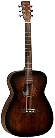 Tanglewood Crossroads TWCR O E Electro Acoustic Guitar in Whiskey Barrel Burst