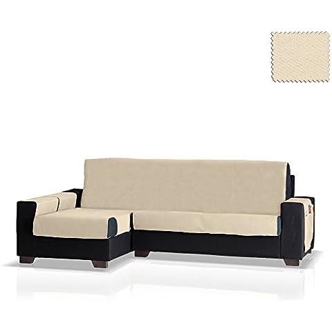 Cubre sofá Chaise Longue Okay, Brazo Izquierdo, tamaño grande (292 Cm.), Color 00 (varios colores