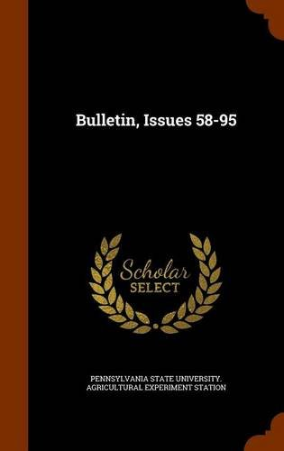 Bulletin, Issues 58-95