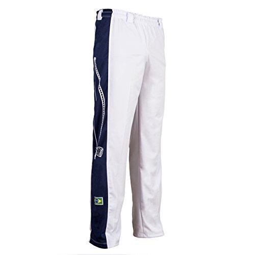 Original Brasilianische Berimbau Capoeira Hose Unisex weiß Abada Martial Arts Elastische Pants.